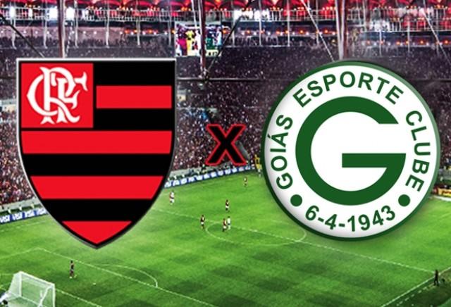 Resultado de imagem para Flamengo x Goiás