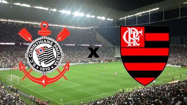 Resultado de imagem para Corinthians e Flamengo fazem no domingo clássico da Série A