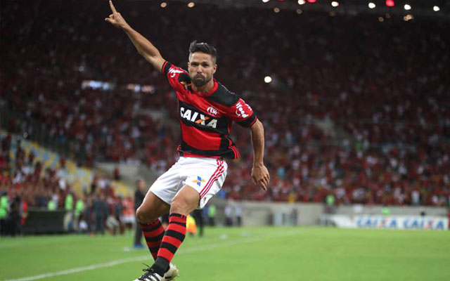 Diego foi o grande trunfo do Rubro-Negro na temporada (Foto: Gilvan de Souza/Flamengo)