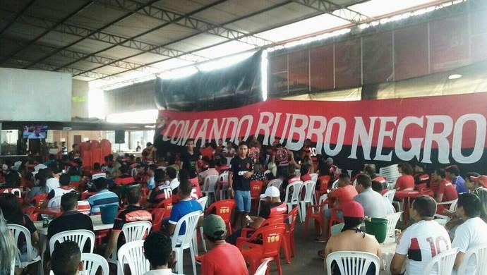 Comando Rubro-negro completa um ano de fundação no dia 15 de novembro (Foto: Salmir Salman/Arquivo Pessoal)