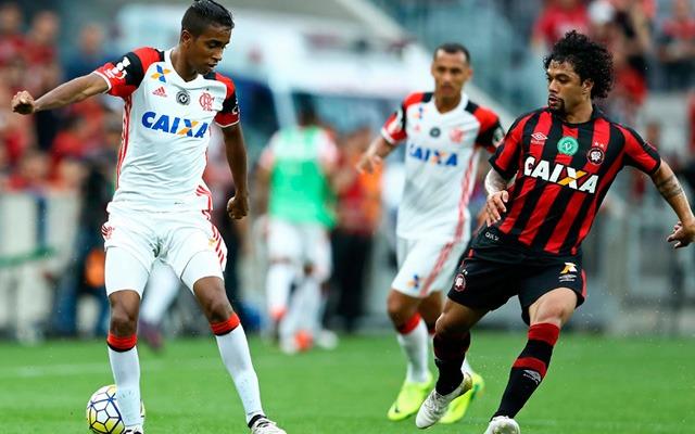 Flamengo terá embate de bons retrospectos contra o Atlético-PR
