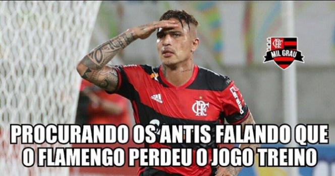 Os memes da goleada do Flamengo na estreia do Campeonato ...
