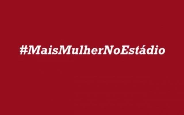 5ddc3d84f7 Flamengo lança manifesto  MaisMulherNoEstádio - Coluna do Flamengo ...