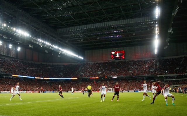 Flamengo cede empate ao Furacão em Curitiba
