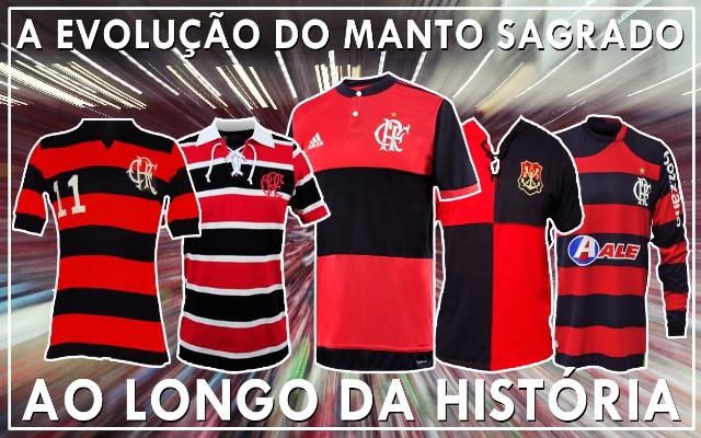 A evolução do Manto Sagrado do Flamengo - Coluna do Flamengo - Notícias 4cf863bbc7985