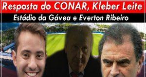Resposta do CONAR, Kleber Leite, Estádio da Gávea e Everton Ribeiro