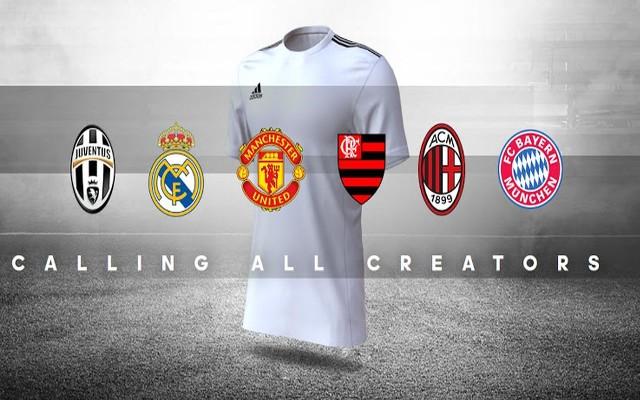 Conheça o conceito da campanha  Creator Studio  com os clubes Top Six da  Adidas - Coluna do Flamengo - Notícias, colunas, contratações, jogos e mais b68e97f7c2