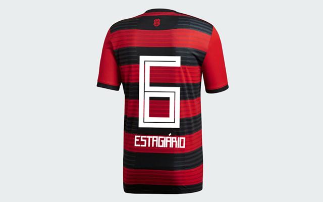 Parte de trás e tipografia  veja detalhes do novo Manto Sagrado - Coluna do  Flamengo - Notícias 9e5818404e4ba