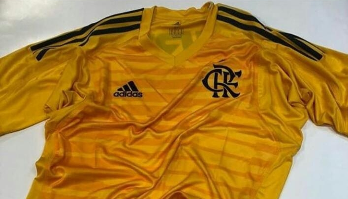 Camisa de goleiro é vazada na web - Coluna do Flamengo - Notícias ... 6eca24601ae4b