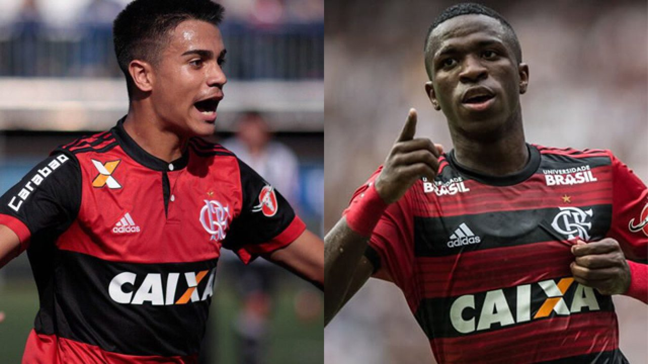 Gerente projeta Vini Jr e Reinier entre os melhores e ressalta trabalho feito na base do Flamengo