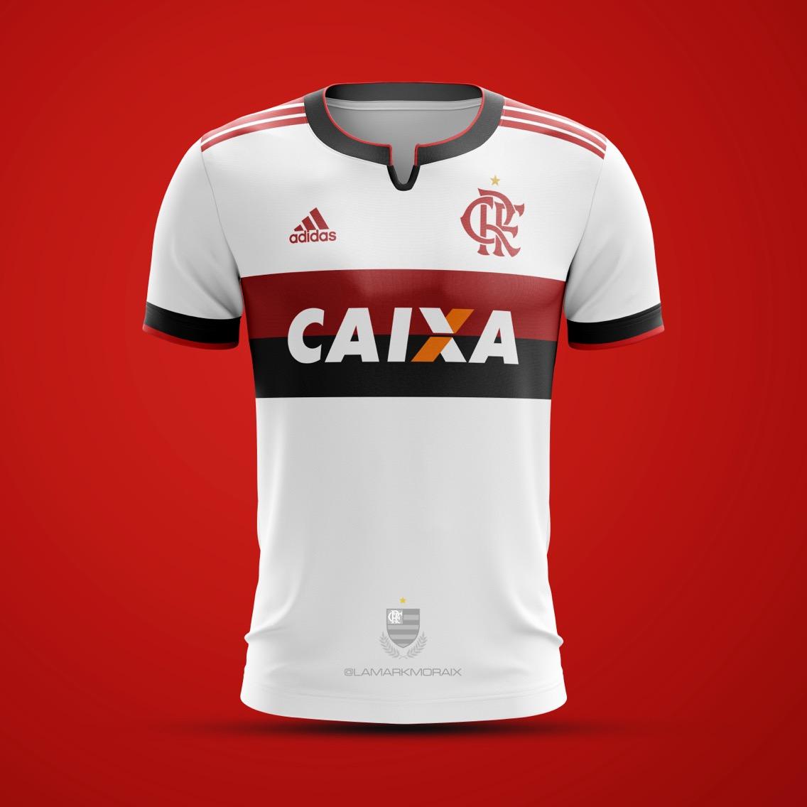 ... uniforme já tem o escudo de esportes terrestres. O critério para o  posicionamento das listras da Adidas e o formado da gola é o mesmo do  primeiro Manto. 0ed78431f92b3