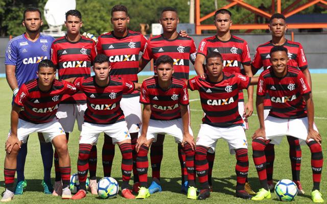 94ac4c6b17 Confira a escalação do Flamengo para encarar o Fluminense na final da Copa  do Brasil sub-17