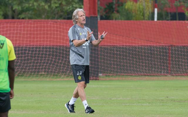 686a3b26b7 Veja escalação do Flamengo para primeiro teste de Jorge Jesus ...