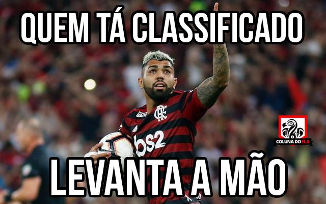 Torcedores Do Flamengo Vão à Loucura Após Classificação