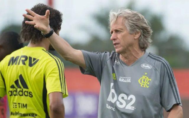 Flamengo finaliza preparação nesta quarta-feira para duelo contra o Atlético-MG pelo Brasileirão