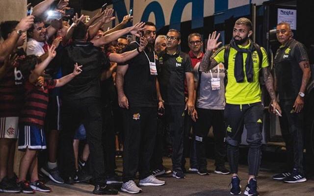 Gabigol manda recado para torcida do Flamengo após vitória contra o Fortaleza