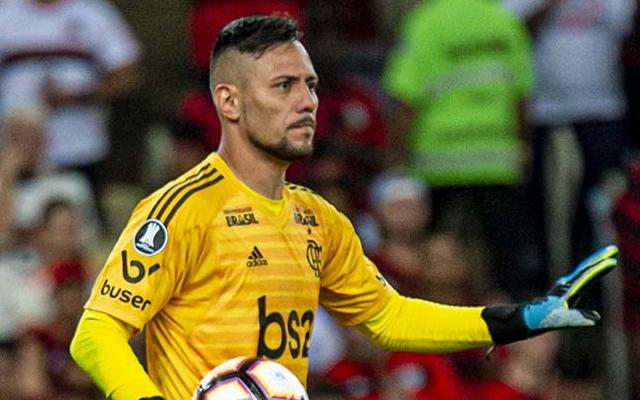 Diego Alves conta o que ouviu de �verton Ribeiro antes da virada na Libertadores