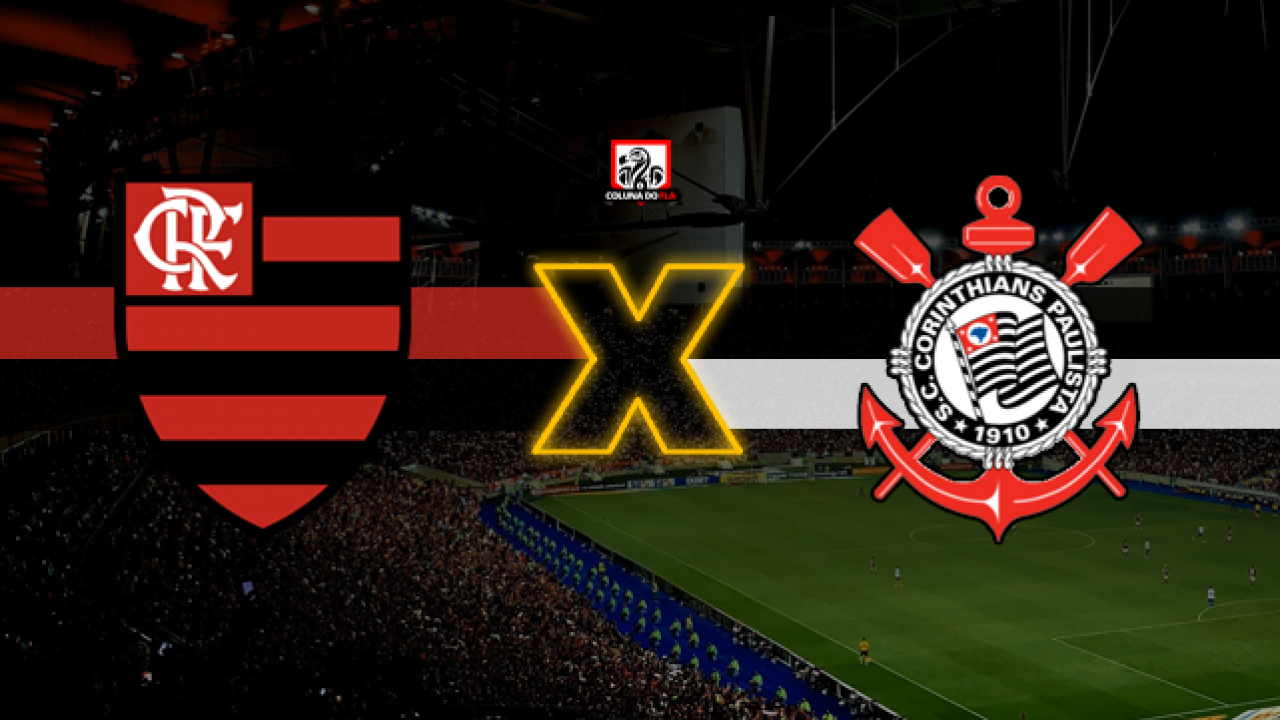 Resultado de imagem para Flamengo x Corinthians