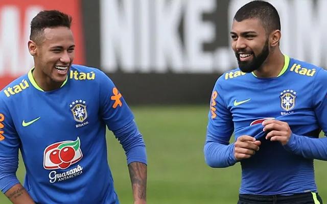 Tem futuro para jogar em qualquer lugar do mundo, afirma Neymar sobre Gabigol