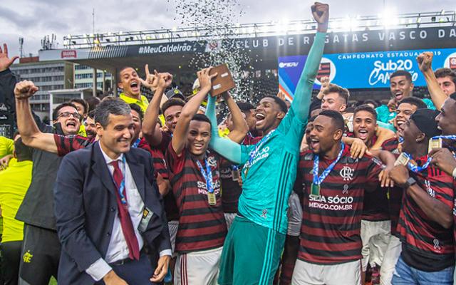 Flamengo vence na estreia da Libertadores sub-20