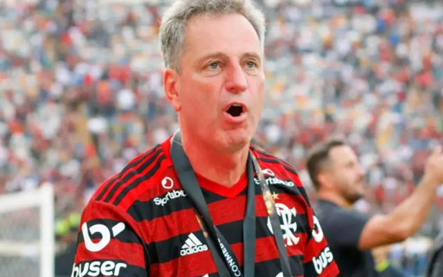 """Landim se mostra confiante em renovação de Gabigol: """"Acredito em um final feliz"""""""