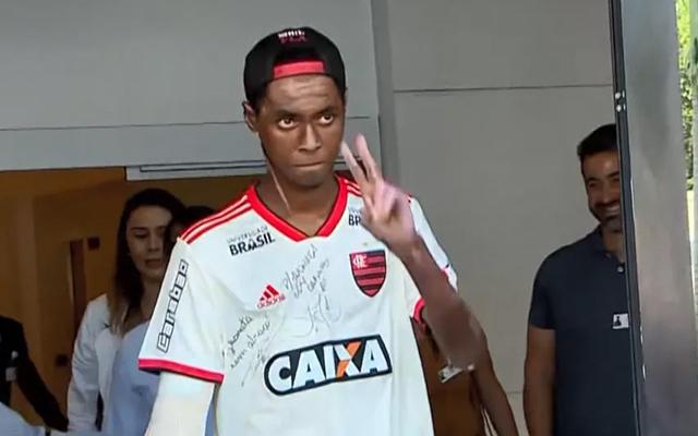 Sobrevivente da tragédia no Ninho, Jhonata Ventura manda recado à torcida do Flamengo
