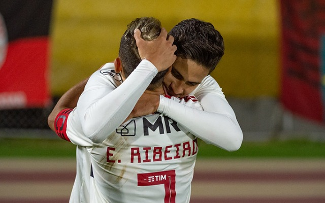 "Pedro enaltece Everton ""Miteiro"" após partida contra o Del Valle"