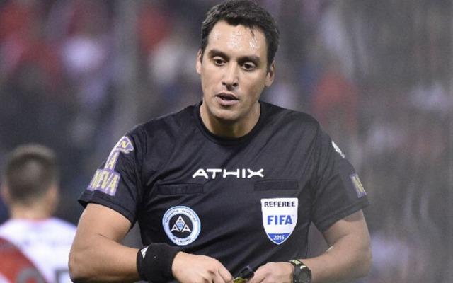 Segundo canal argentino, árbitro escalado para final da Recopa é suspenso pela AFA
