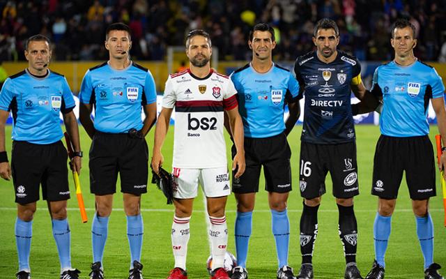 Arbitragem para jogo de volta entre Flamengo e Del Valle já está definida