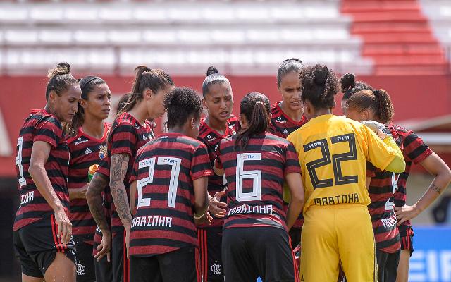 Flamengo perde para o São Paulo por 3 a 1, pelo Brasileirão feminino
