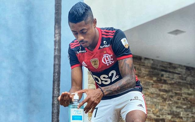 #FiqueEmCasa: Bruno Henrique divulga vídeo das atividades físicas realizadas na quarentena
