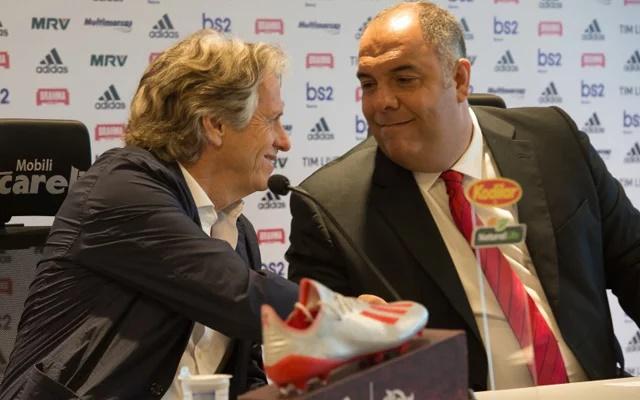 Vice de futebol do Flamengo, Braz publica mensagem sobre Jorge Jesus e empolga rubro-negros por renovação