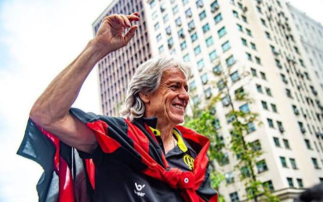 Com sete troféus e cinco títulos, Jorge Jesus pode fazer história no Fla caso conquiste Taça Rio