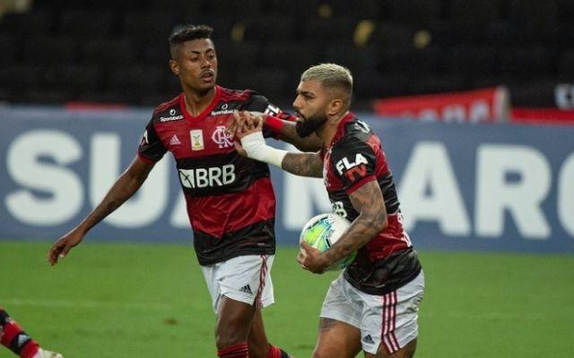 Com Gabigol e Bruno Henrique, Flamengo tem cinco jogadores pendurados no Brasileirão