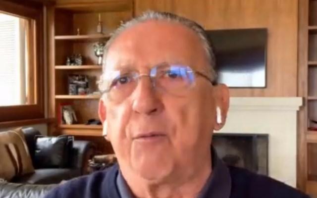 Galv�o Bueno fala sobre confronto entre Flamengo e Palmeiras
