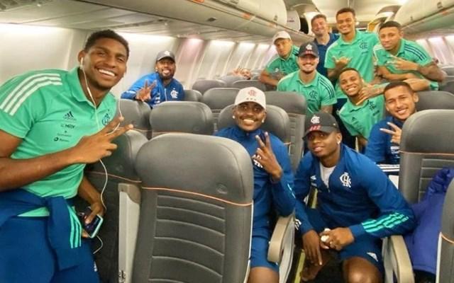 Flamengo pensa na Copa do Brasil e n�o retorna ao Rio ap�s jogo contra o Inter