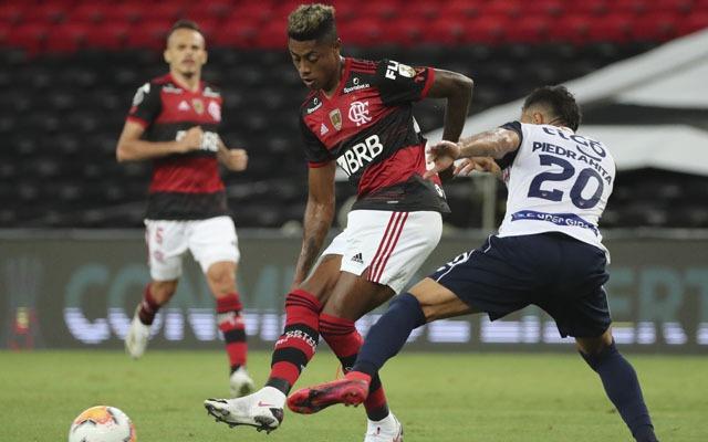 Bruno Henrique tem média, de mais de um gol a cada jogo da Libertadores