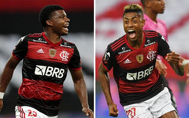 Flamengo pode ter dupla de ataque inédita no time titular