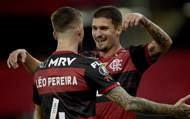 Artilharia coletiva: oito jogadores diferentes marcaram pelo Flamengo na Libertadores