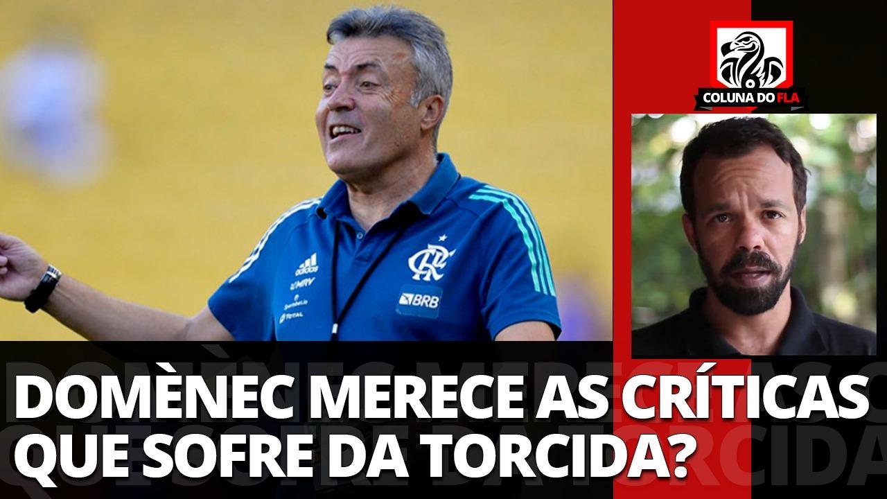 Comentarista exalta trabalho de Dome no Flamengo, mas cita falta de confiança por parte da torcida