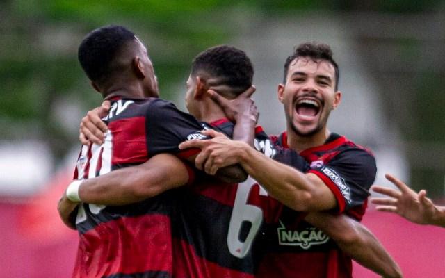 Flamengo divulga escalação para jogo contra o Corinthians, pelo Brasileirão sub-20