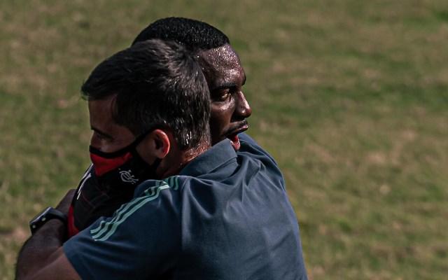 """""""Só depende de nós"""", Ramon confia na classificação do Fla no Brasileirão sub-20"""