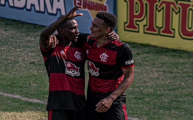 """""""Temos que buscar a classificação"""", Autor do gol do Flamengo, Rodrigo Muniz projeta decisão no Brasileirão sub-20"""