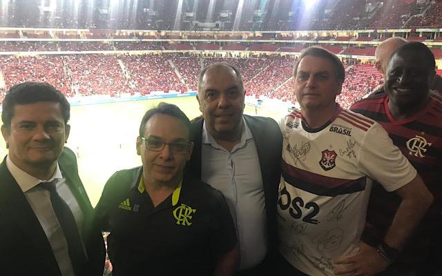 CBF convida Jair Bolsonaro para assistir Flamengo x Palmeiras nesta noite