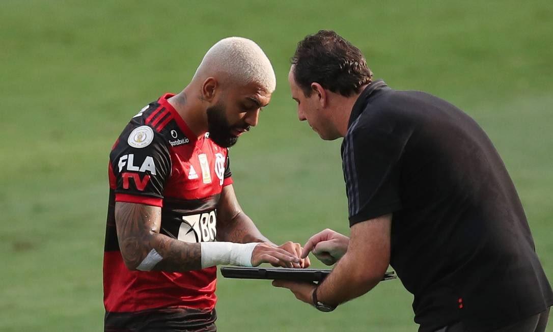 Gabigol visa recuperação no Flamengo enquanto fica de olho na artilharia da temporada