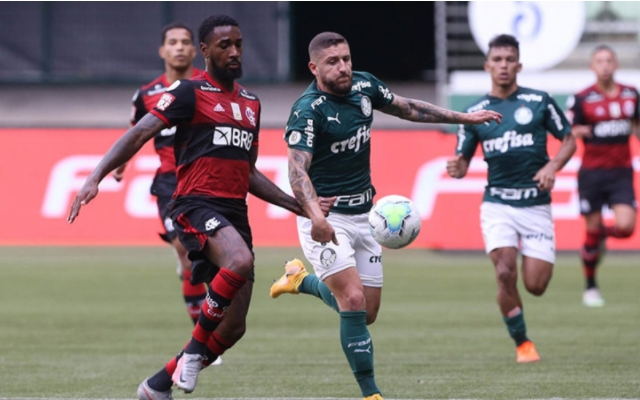 Veja provável escalação do Flamengo para encarar o Palmeiras