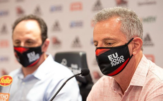 Em meio à má fase do Flamengo, Rodolfo Landim acompanha delegação em viagem para Goiás