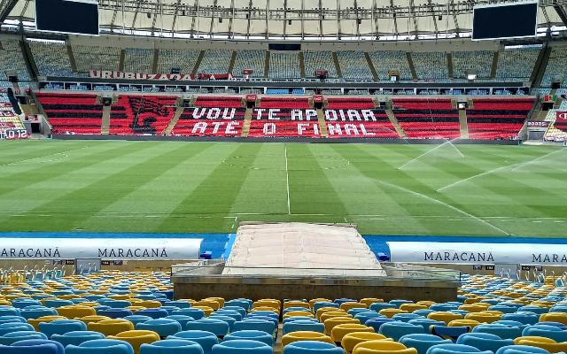 Para evitar aglomerações, ruas entorno do Maracanã serão interditadas durante duelo entre Flamengo e Internacional