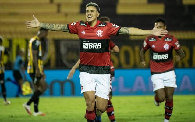 Pedro assume protagonismo, marca três, e Fla abre larga vantagem em semi contra o Volta Redonda - Flamengo   Coluna do Fla