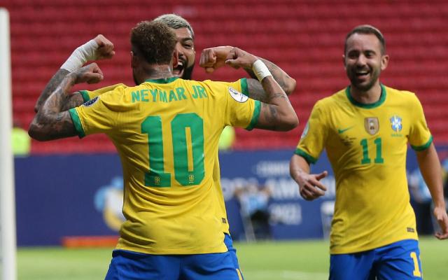 Gabigol encerra jejum de gols de jogadores do Flamengo na Seleção Brasileira  após quase 10 anos - Flamengo | Coluna do Fla